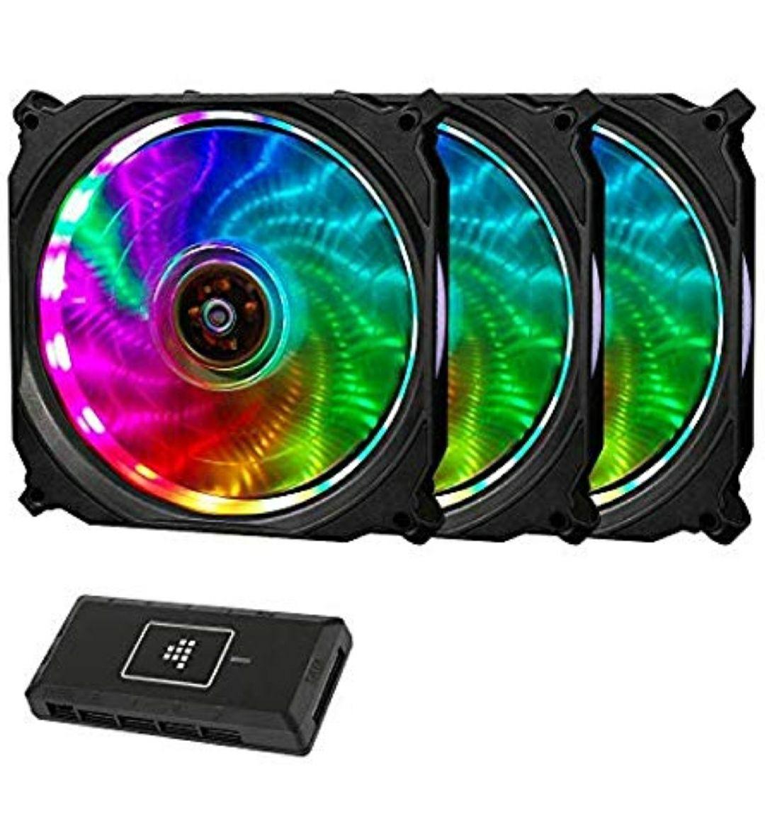 Amazon: ventilador RGB Gaming para PC 120mm (con control remoto)