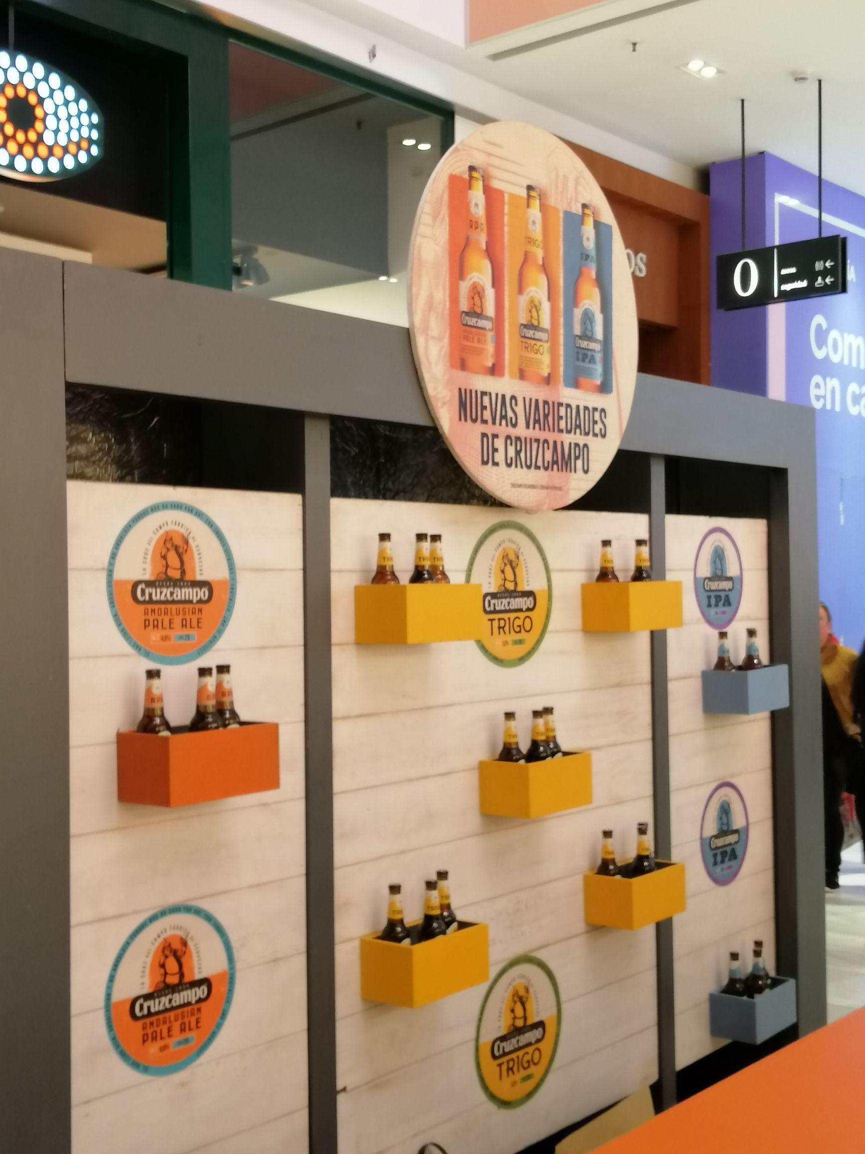 Cerveza gratis hasta agotar existencias en centro comercial de los Arcos en (Sevilla)