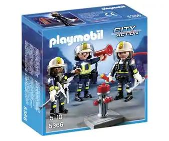 Playset de juegos Equipo de bomberos PLAYMOBIL (Alcampo Alcalá de Henares)