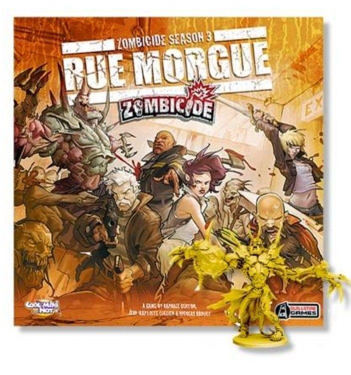 Zombicide. Temporada 3: Rue Morgue