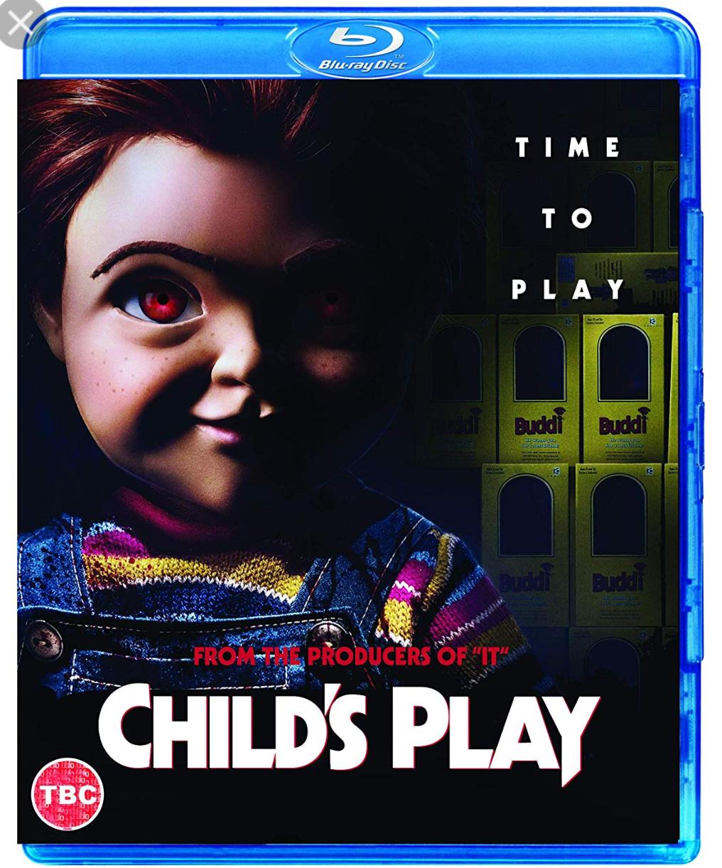Child's play blu-ray 2019