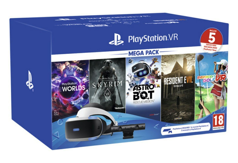 PlayStation VR + cámara + 5 juegos