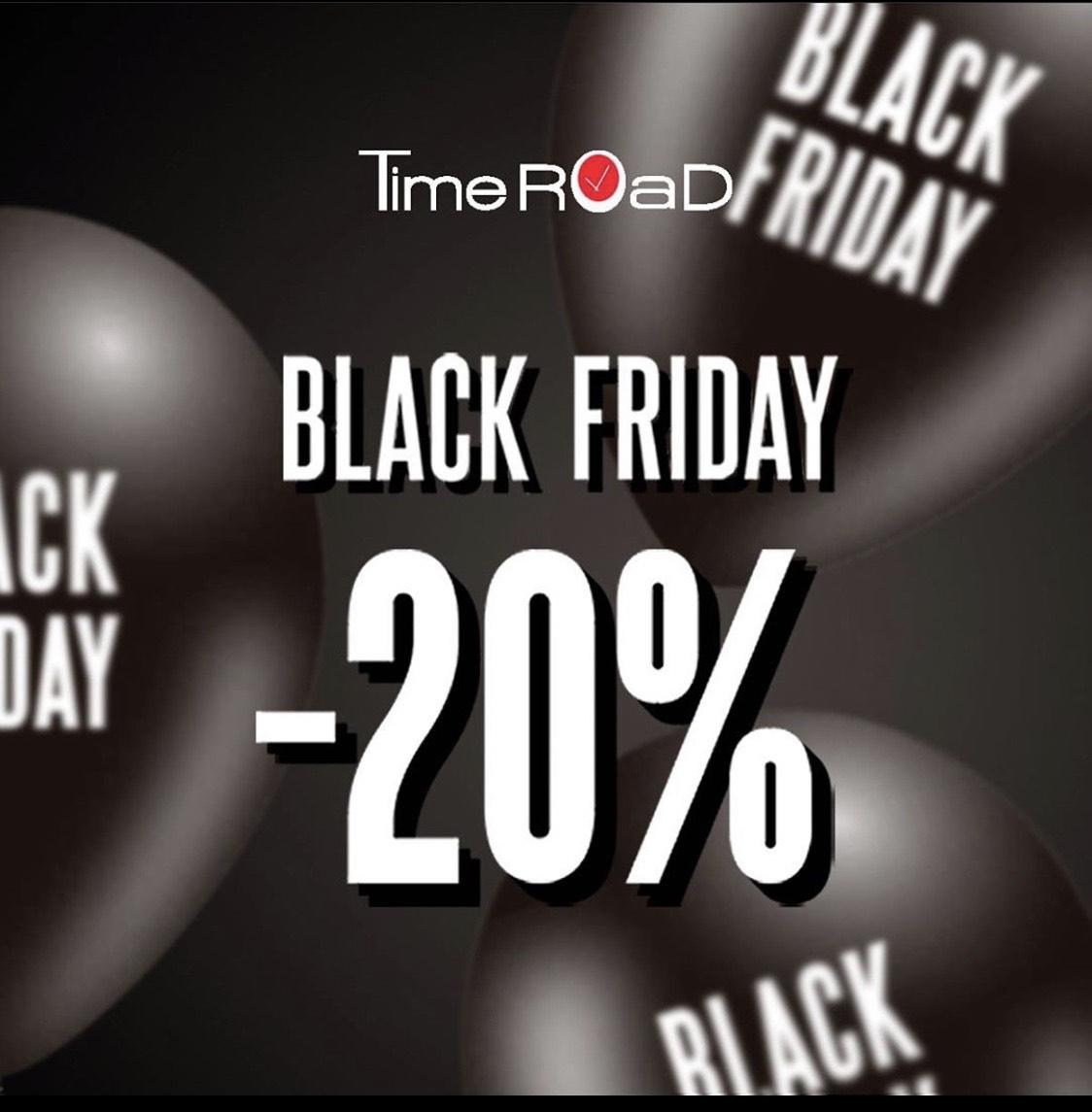 20% en toda la web de Time Road + puntos de venta