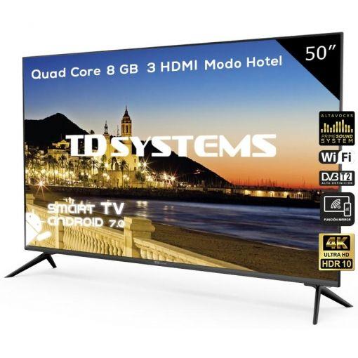 "TV LED TD Systems K50DLX9US 50"" UHD 4K Smart TV"