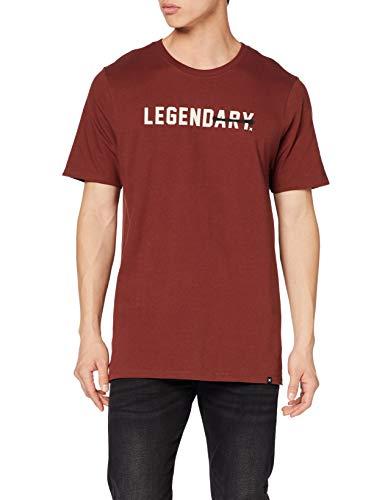 TALLAS M y L - Hurley M Core Legendary SS Camiseta, Hombre