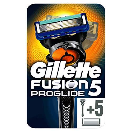 6 cuchillas Gillette Fusion5 ProGlide + Maquinilla de Afeitar