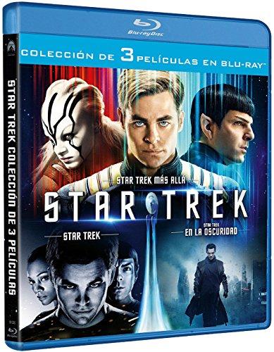 Blu-Ray Trilogía Star Trek