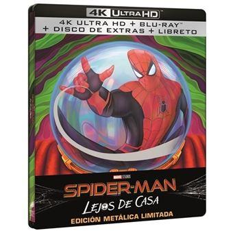 Spiderman: Lejos de casa - Steelbook - UHD + BluRay
