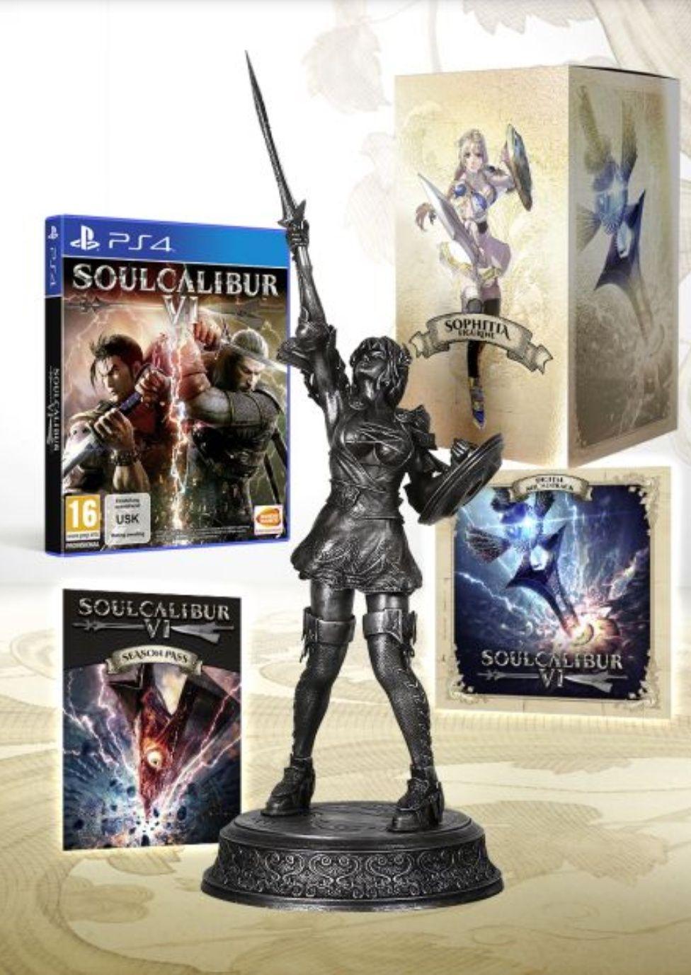 Soul Calibur VI Silver Collector Edition
