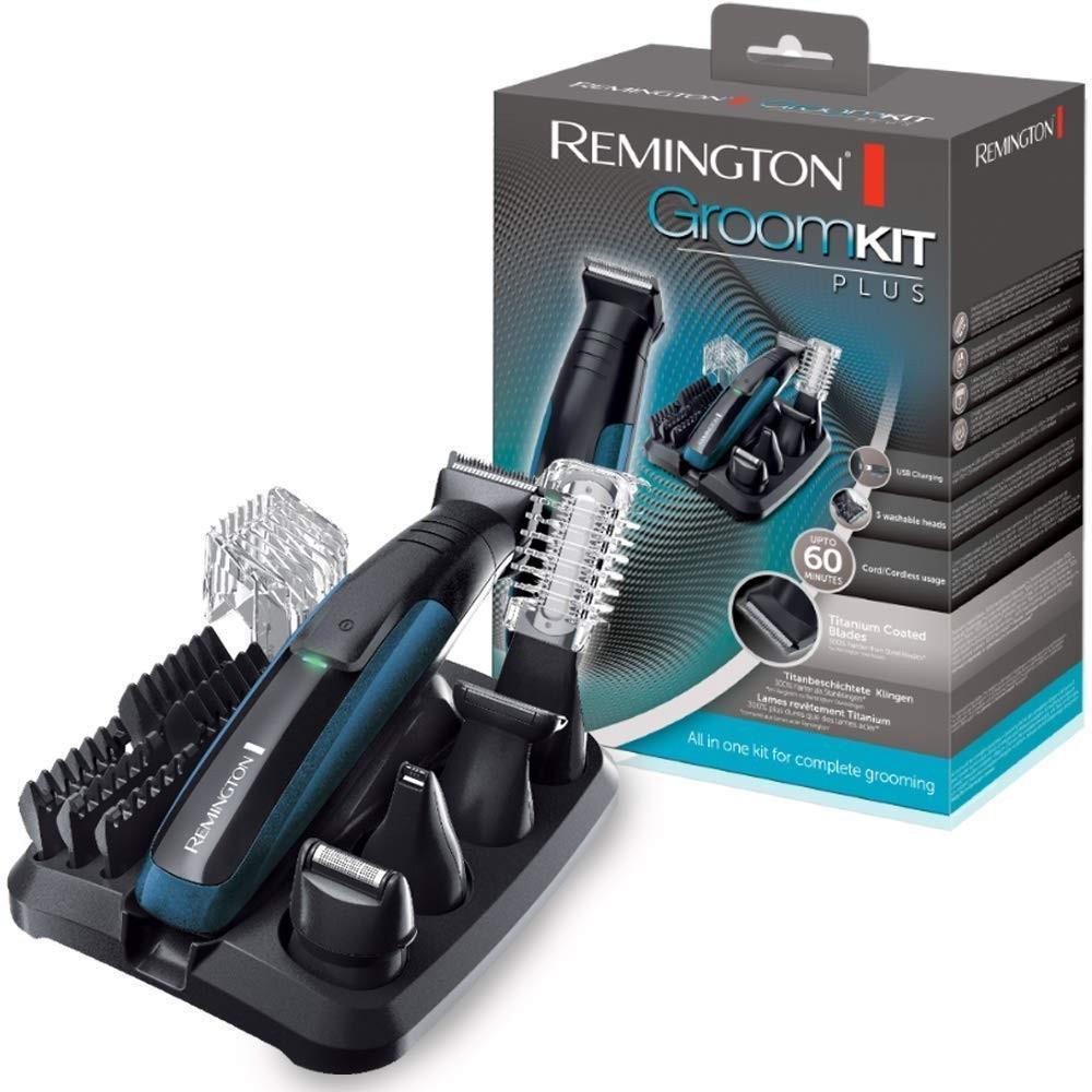 Remington PG6150 Kit Cortapelos Multifunción Inalámbrico Con 5 Cabezales