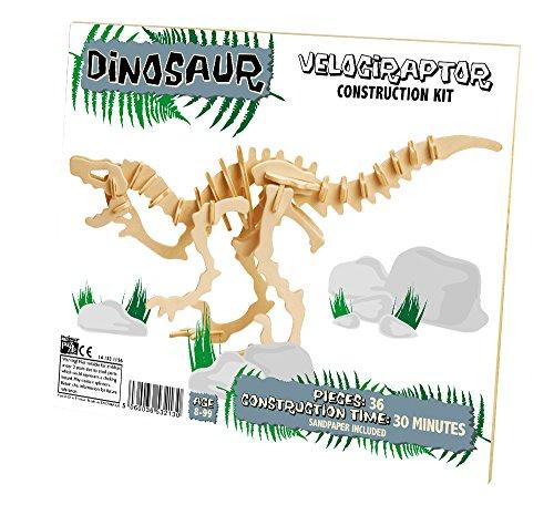 Envío de 1 a 3 meses Dinosaur Construction Kits Model Velociraptor