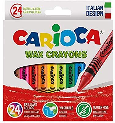 24 Carioca Ceras, Multicolor (COMO NUEVO)