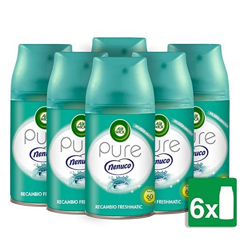 Pack de 6 Air Wick Freshmatic de Nenuco