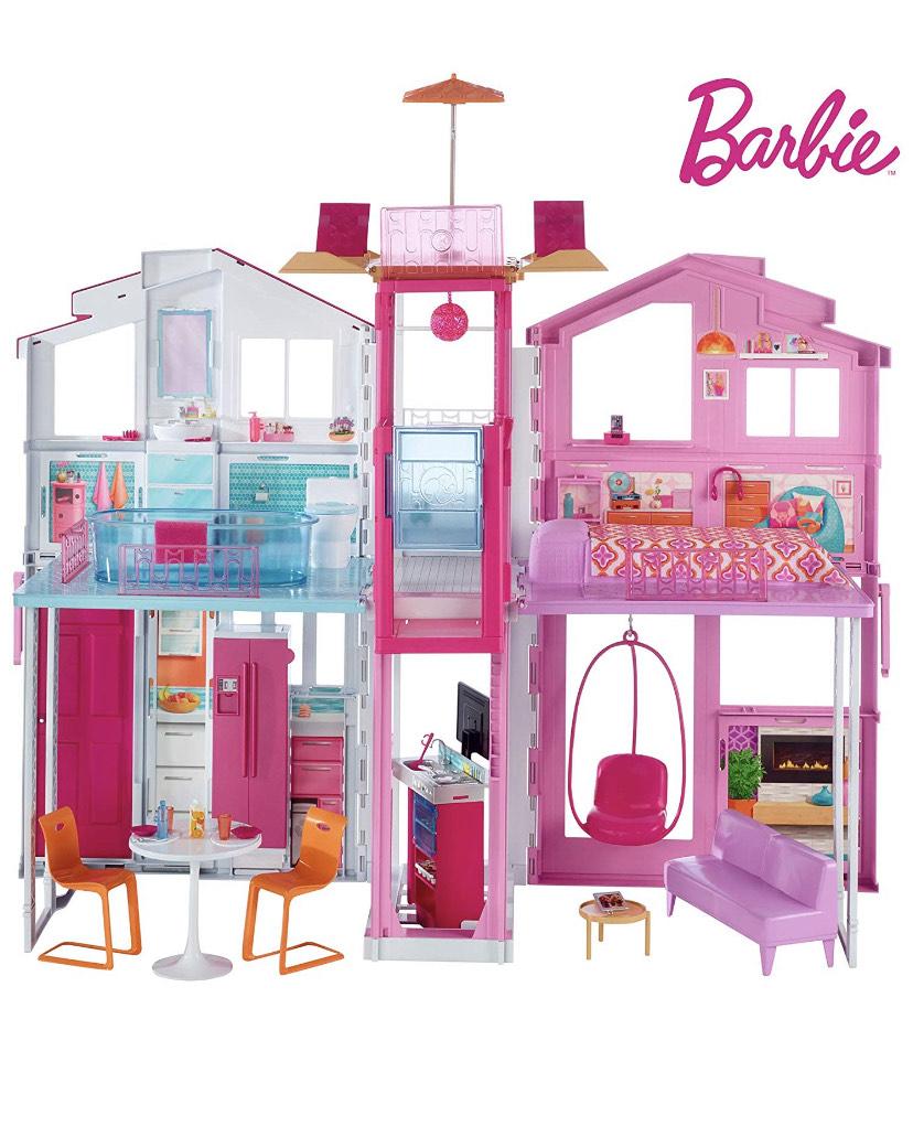 Casa de Barbie con accesorios
