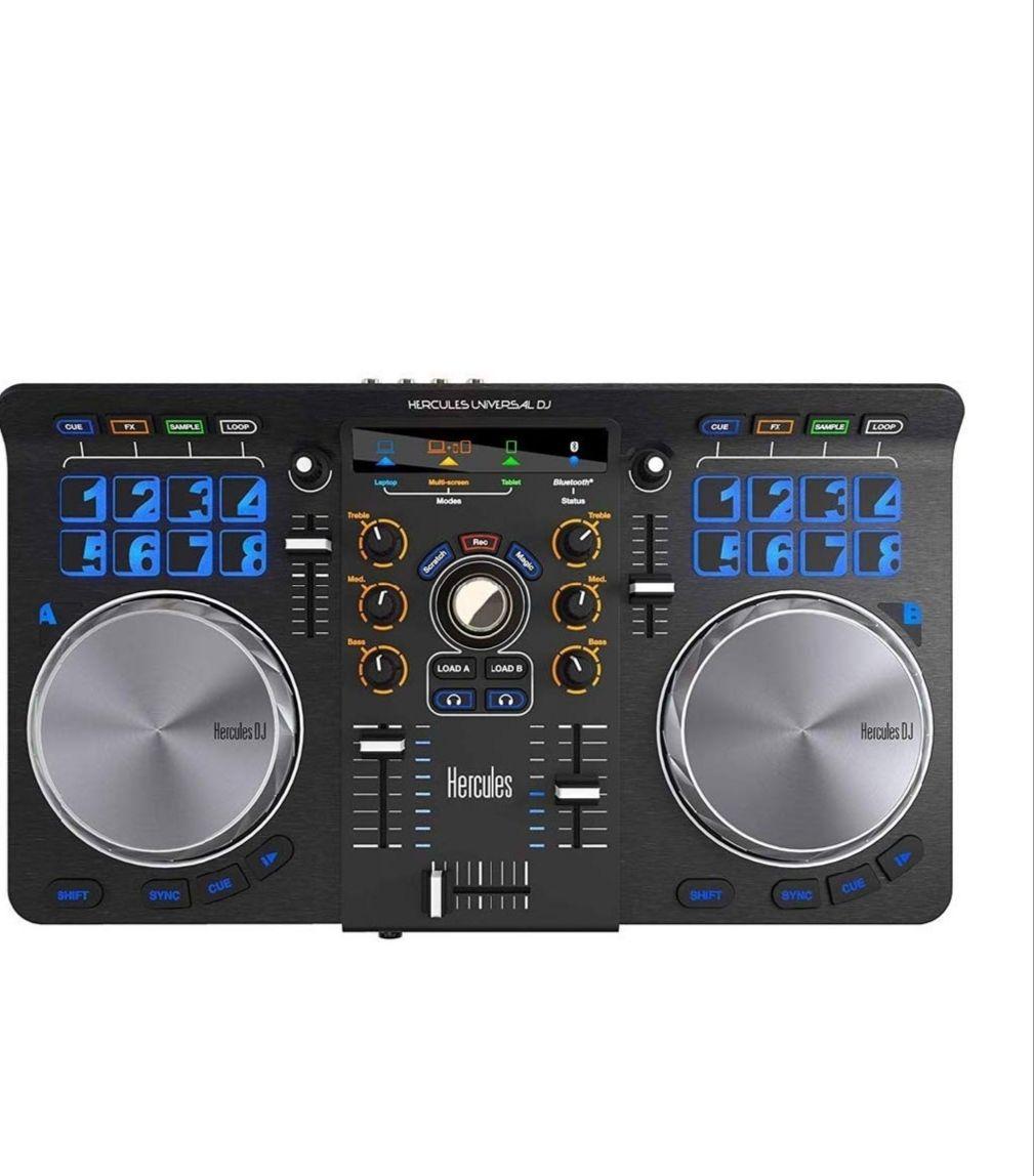 Hercules Universal DJ - Consola para DJ (mezclas desde todos tus dispositivos, Android, iOS, PC y Mac)