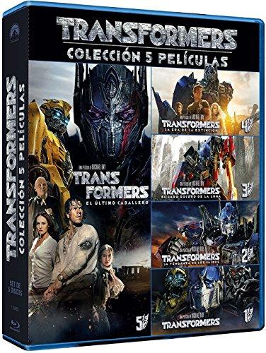 Blu-Ray Pack Transformers (5 pelis)