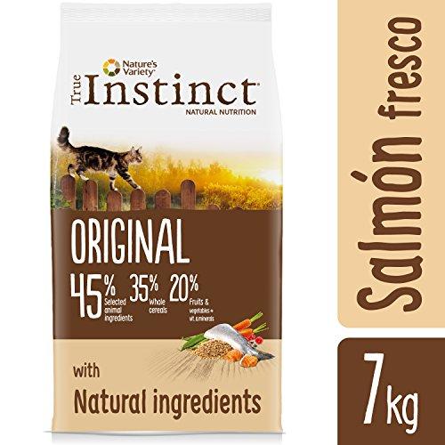 Bajada de precio de True Instinct Original Pienso para Gato Esterilizado Adulto con Salmón (7 kg)