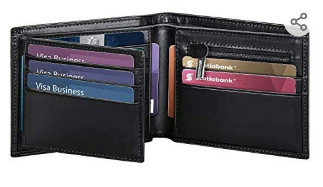 Vuelve la oferta flash billetera de hombre