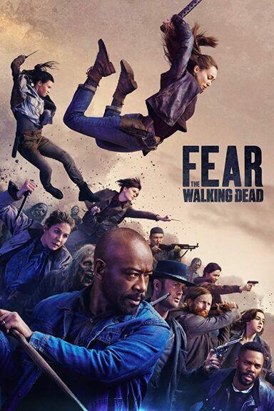 Pack 4 TEMPORADAS COMPLETAS Fear The Walking Dead (DVD)