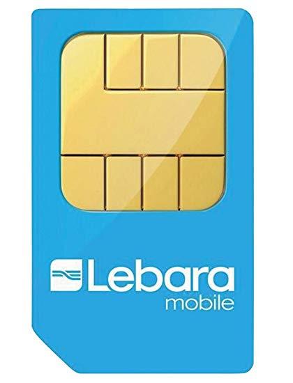 90% de descuento en Lebara - 45€ de saldo por 3€