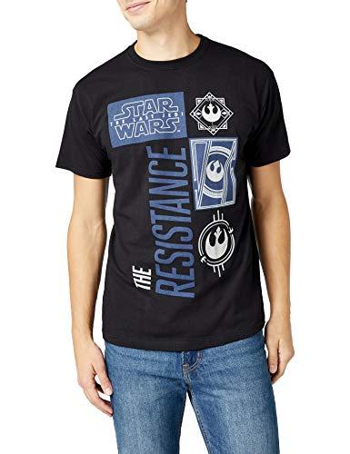 STAR WARS Last Jedi The Resistance Camiseta para Hombre/mujer talla xl