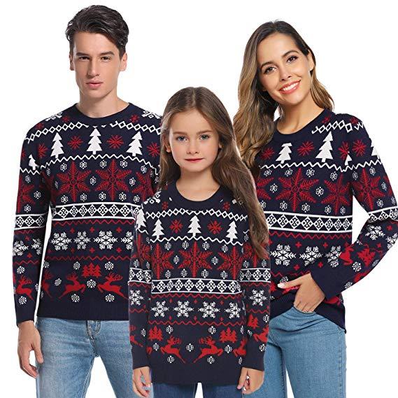 Jerseys de navidad de todos los colores