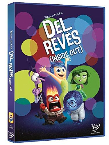 """DVD """"Del Revés (Inside out) - Envío PRIME"""