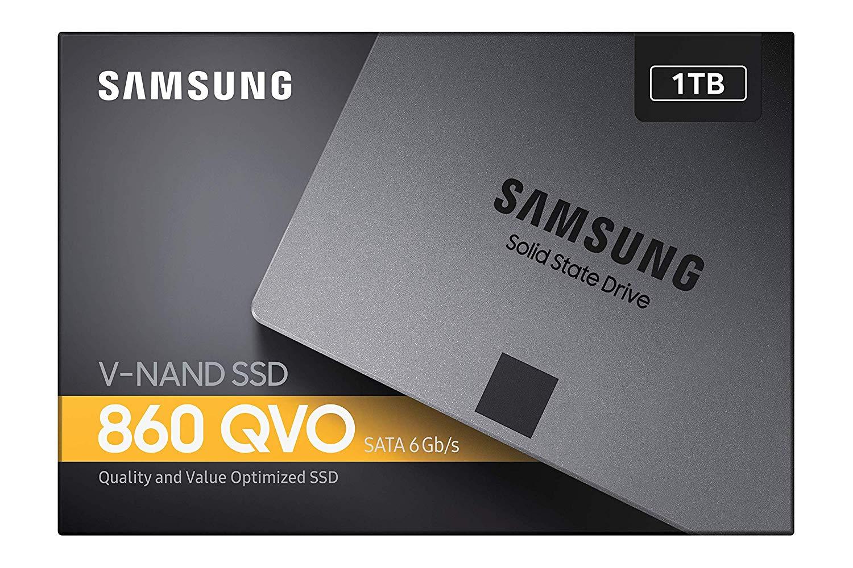 "Samsung 860 QVO 1 TB SATA 2.5"" - SSD interno"