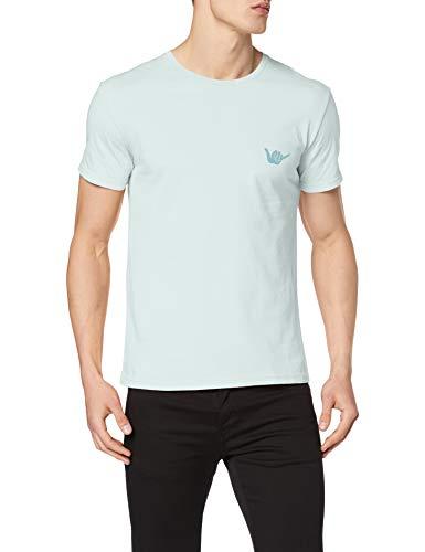 TALLA S - RIP CURL Surf Emblem SS tee Camiseta, Hombre