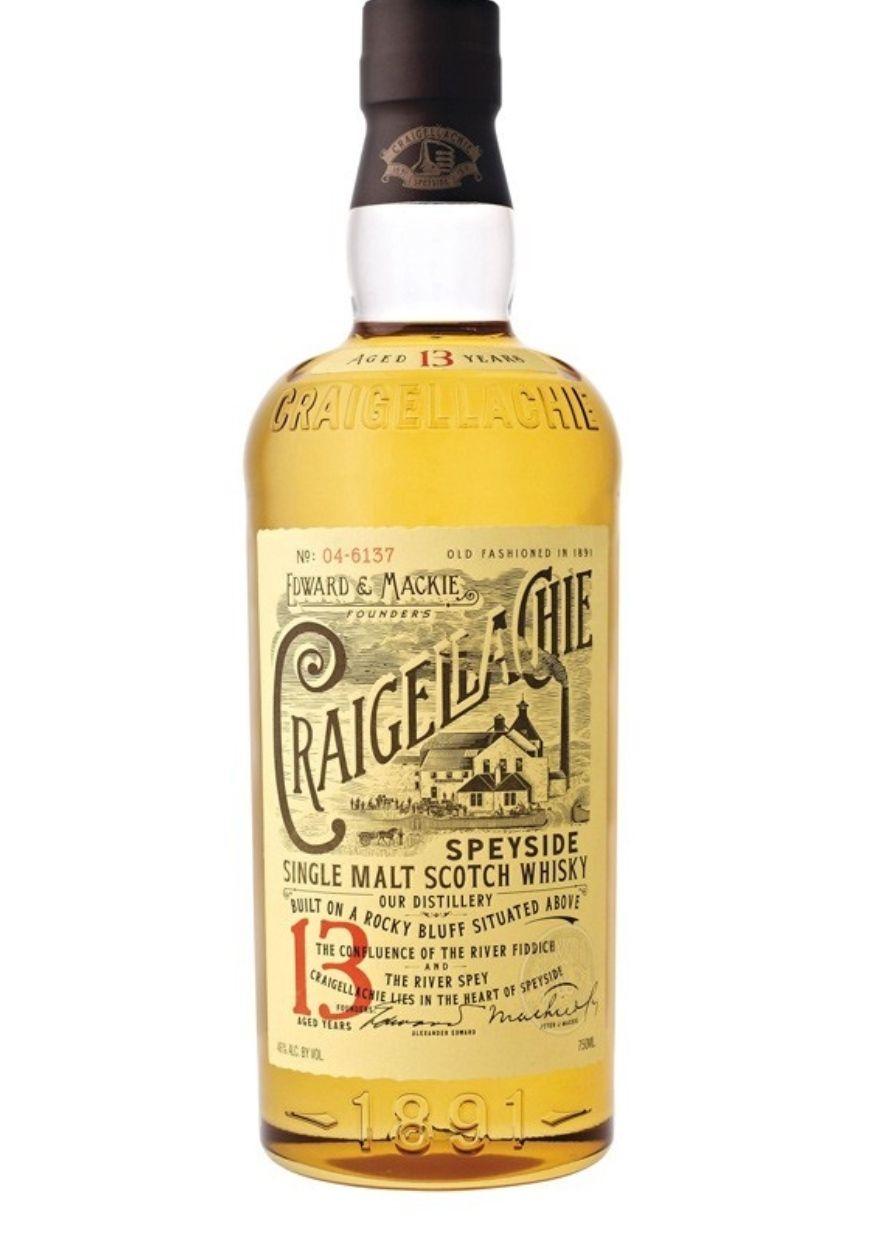 Craigellachie 13 años whisky