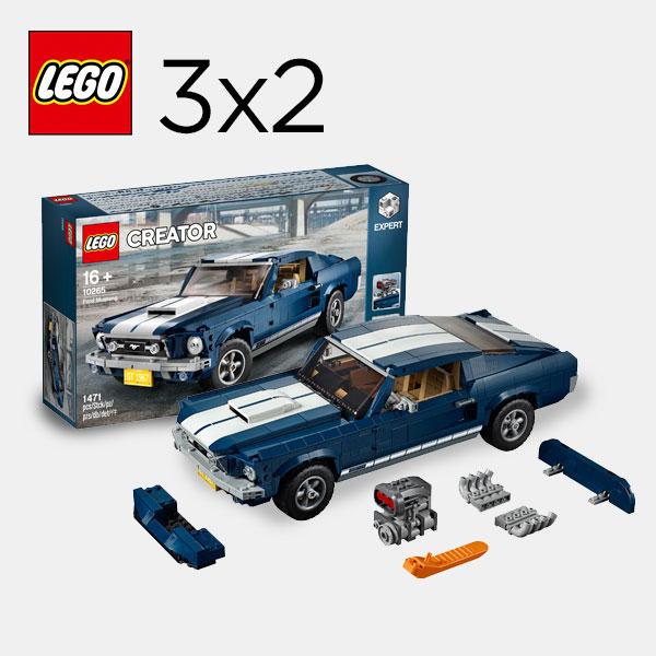 Todo Lego con 3x2 en El Corte Inglés