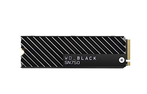 SSD NVMe 1 TB WD Black SN750, 3470 Mbps con disipador térmico por 169,99 €