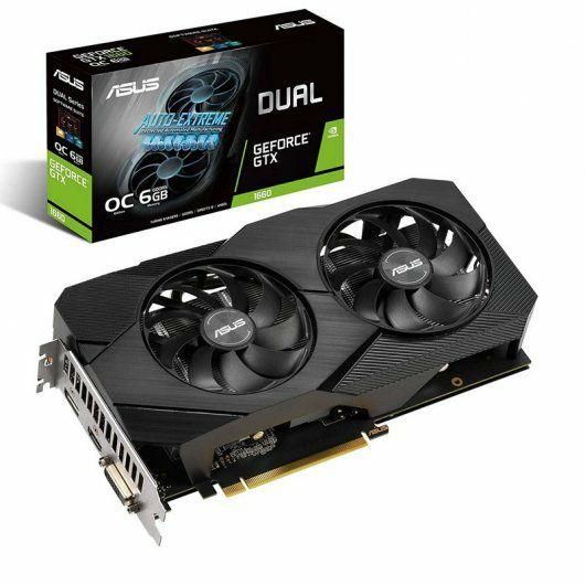 Asus Dual GeForce 1660 EVO OC edition 6GB GDDR5