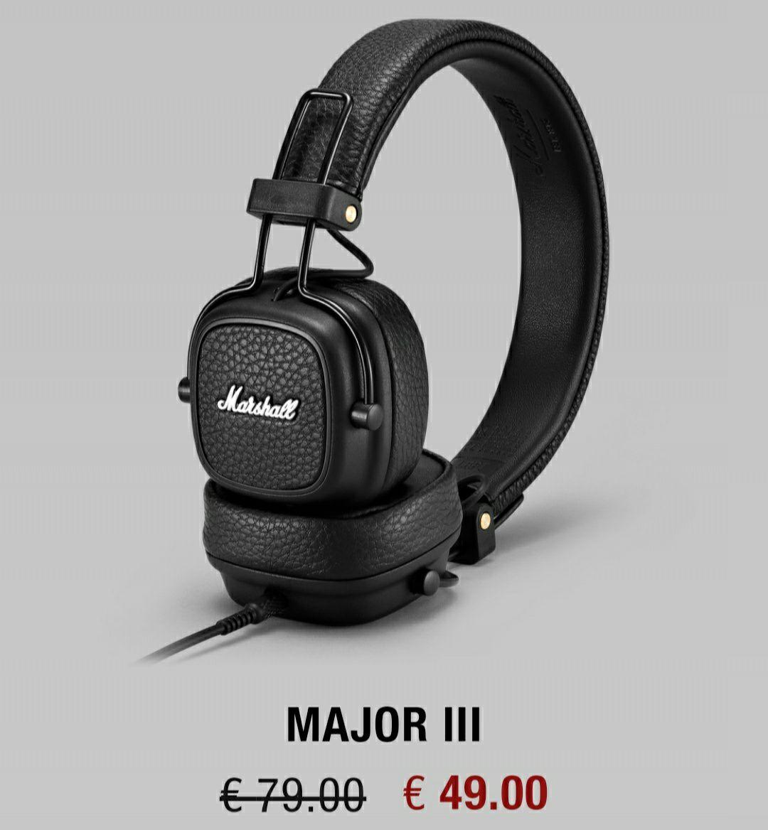 DESCUENTAZOS en Marshall Headphones - Cyber Monday