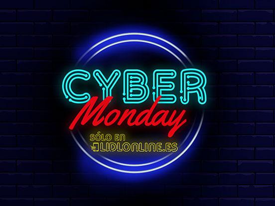 Cyber Monday en Lidl Online.