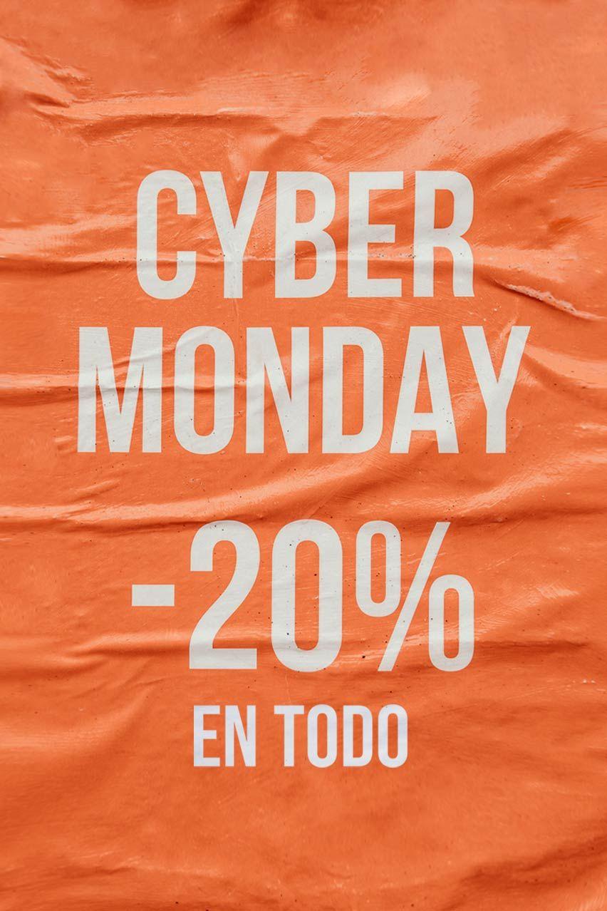 Cyber Monday 20% en TODA la zapatería krack