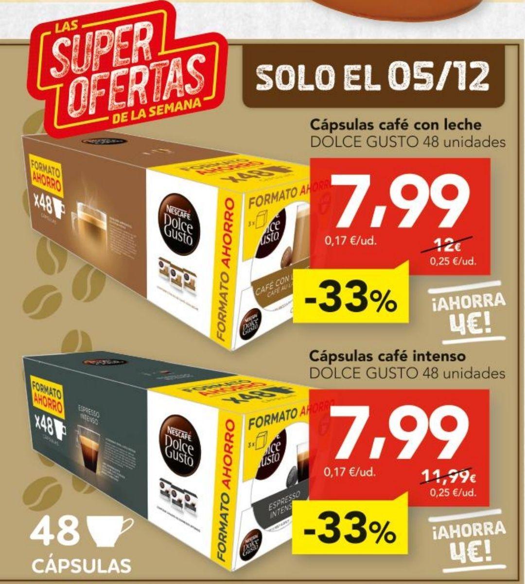 Pack de 3 cajas Dolce Gusto por 7,99€