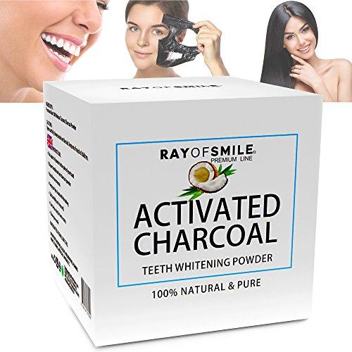 Blanqueamiento dental de Carbón Activado 100% Natural y puro BOTE 60 g de Carbón Activo en polvo
