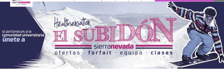 Ofertas Forfait Sierra Nevada para Estudiantes y Comunidad Universitaria desde 32.2€/día