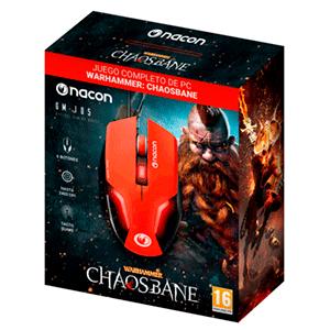 Ratón Gaming NACON GM-105 + WARHAMMER CHAOSBANE