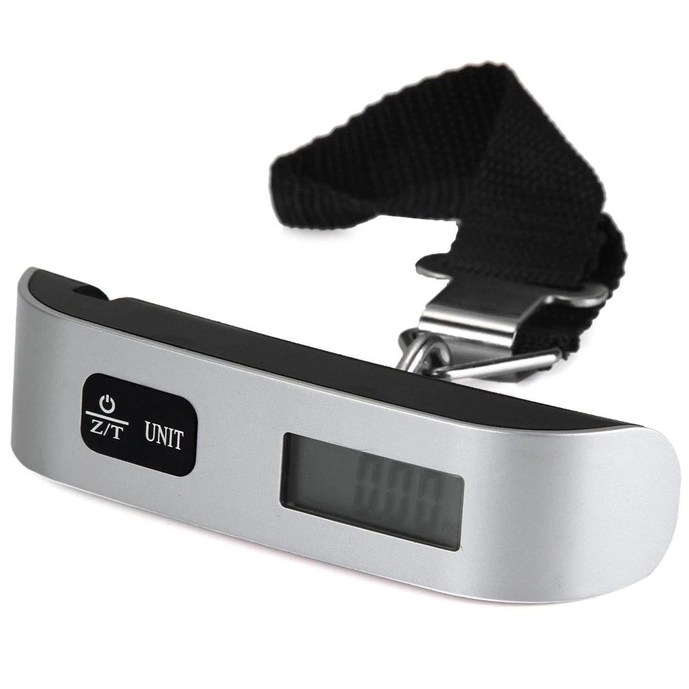 Peso electrónico (LCD) para maletas - 50 kg. máximo