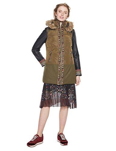 Chollazo abrigo chica Desigual en todas las tallas