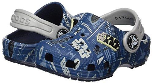 (PLUS) - TALLA 19/20 - Crocs Classic Star Wars Graphic Clog Kids, Zuecos Unisex Niños