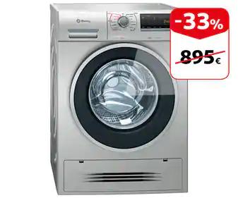 Lavadora secadora BALAY 3TW976 XA capacidades lavado-secado 7KG-4KG