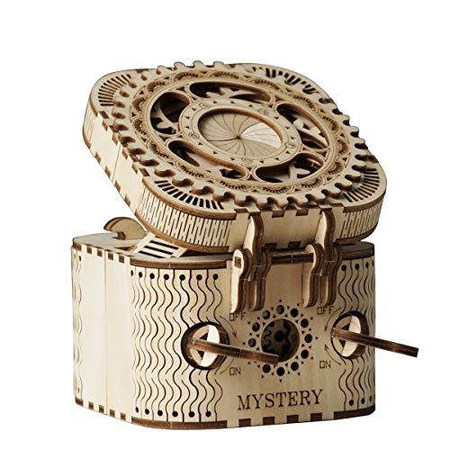 Kits Treasure Box - Puzzle de Madera 3D