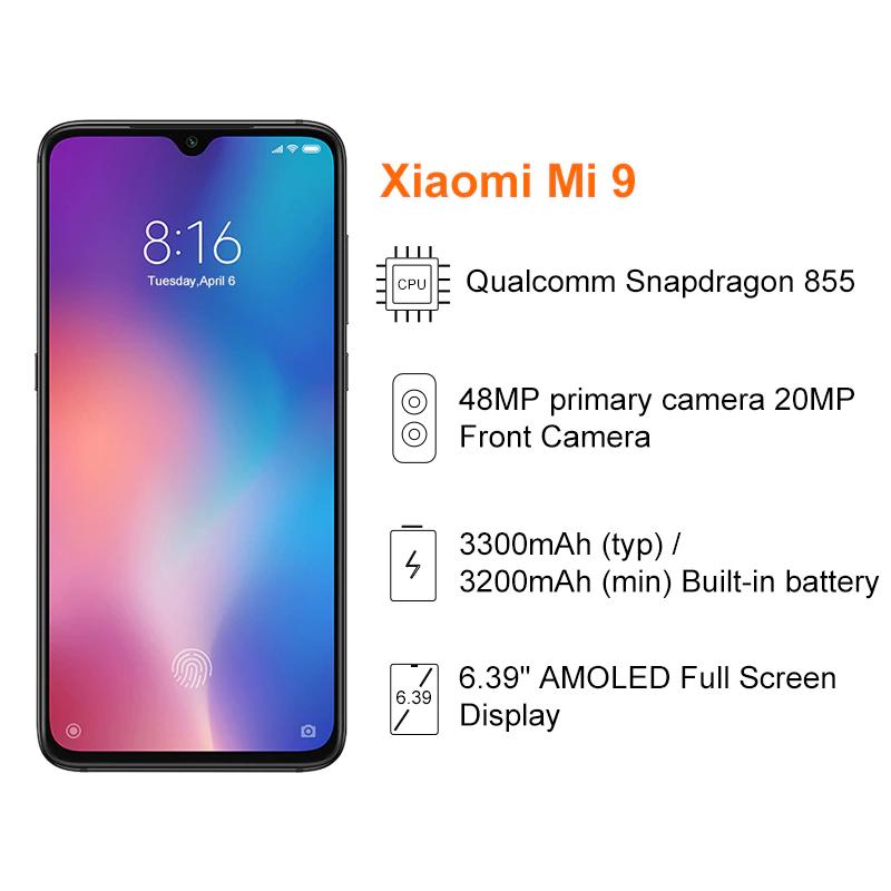 Xioami Mi 9 6GB/64GB