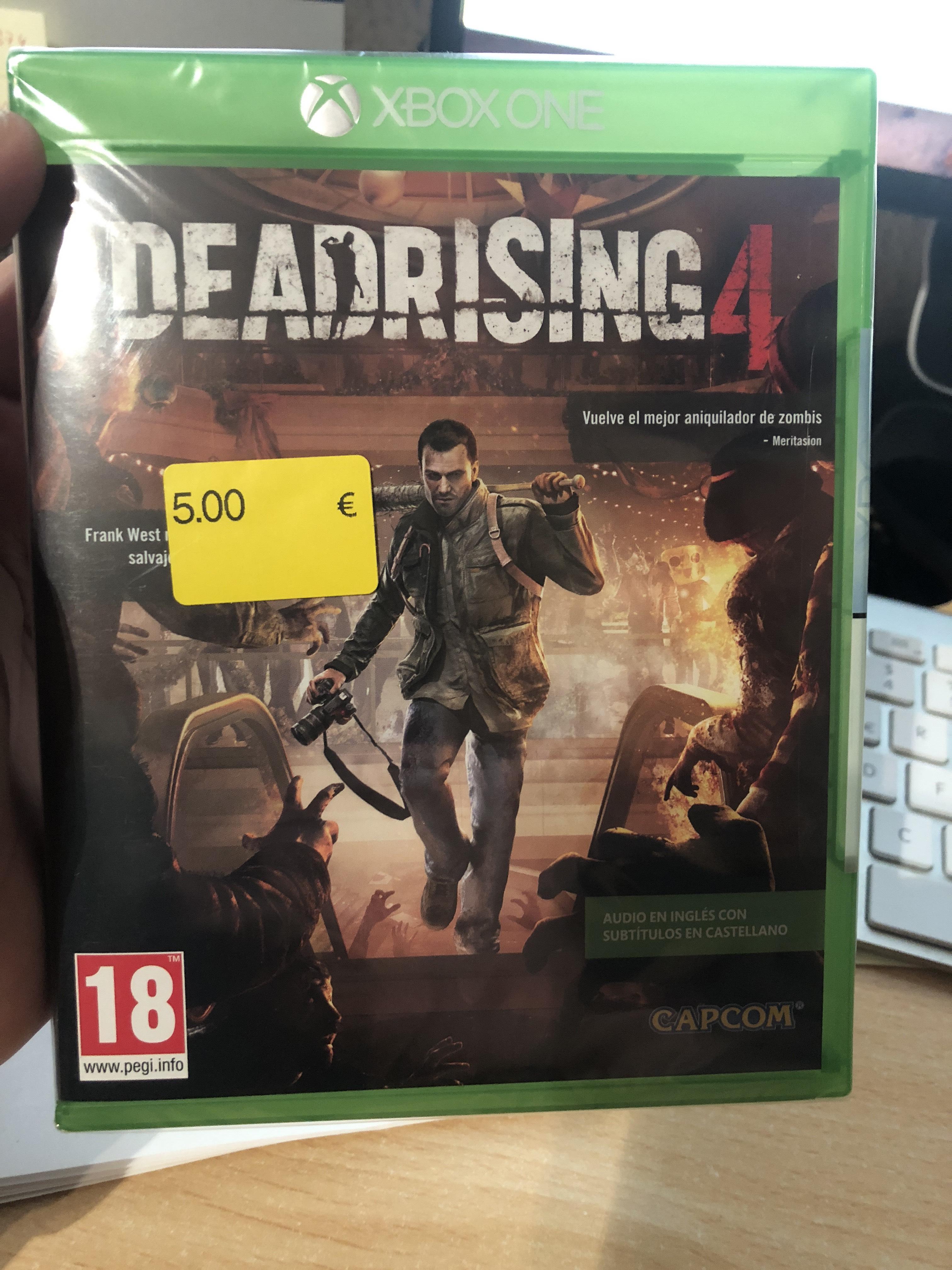 Deadrising 4 para Xbox One