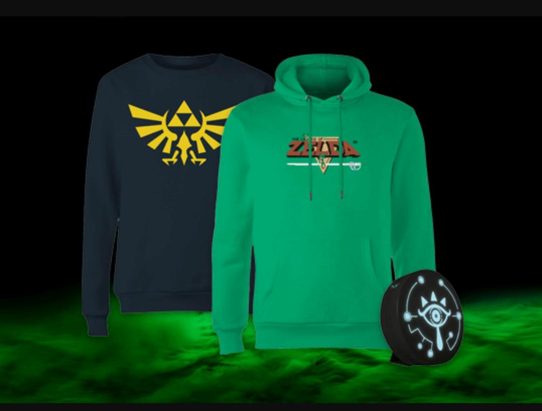 Camiseta o Sudadera + Lámpara Legend of Zelda ( para chicos y chicas )