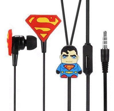 Auriculares + Microfono Superman