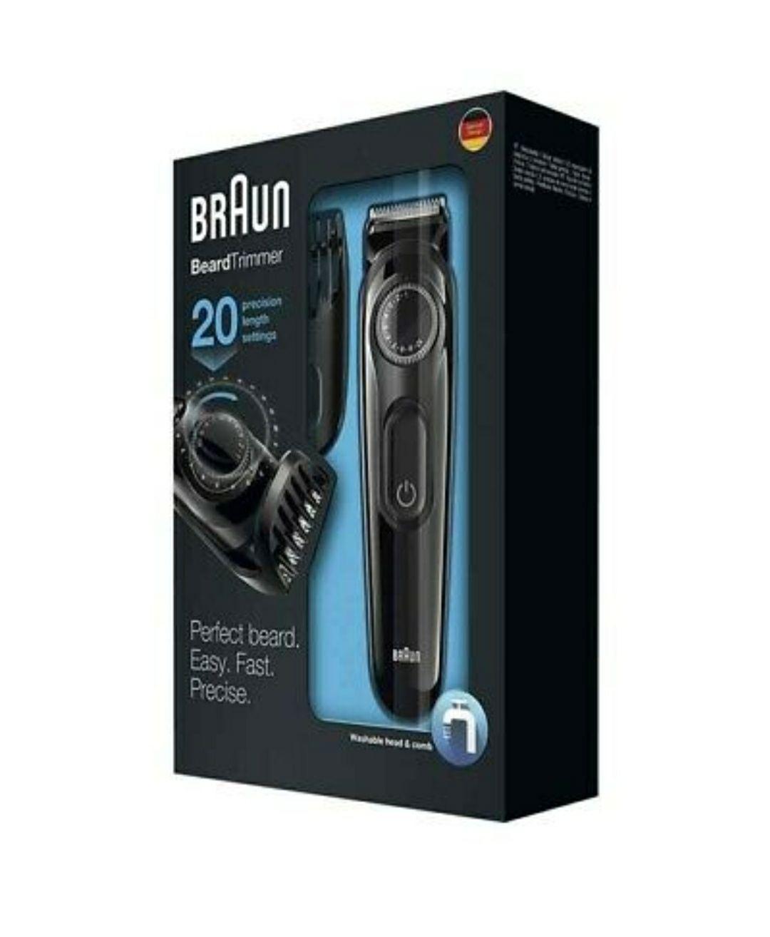 Recortado de barba Braun 20€!